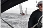 Pohlad z veducej pozicie... ;-), téma: Závodní jachting, 2.místo