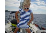 Malá modelka, téma: Děti na lodi, 2.místo