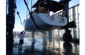 očista na dizalici, téma: 2014 Práce na lodi, 1.místo