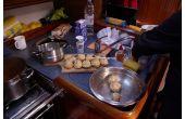 Není nad domácí knedlíčky, téma: 2014 Lodní kuchyně, 2.místo
